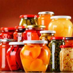 консервированные Овощи и Фрукты